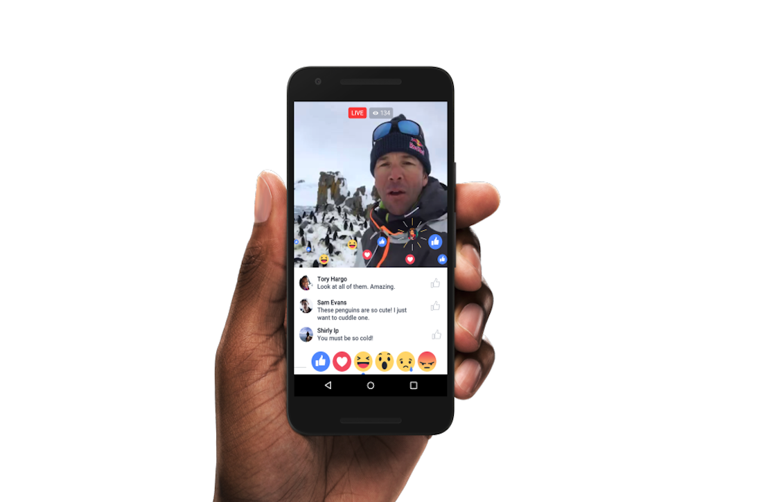 Facebook start uitrol Facebook Live in Android-app
