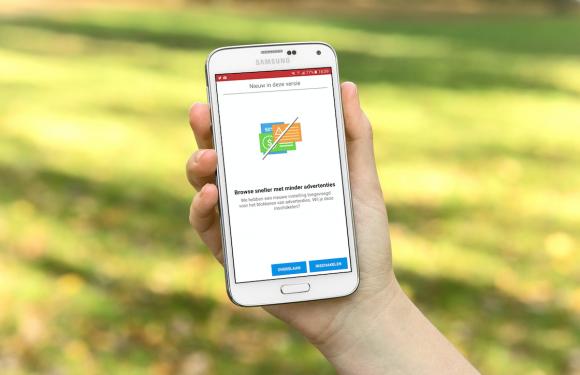 Opera Mini voor Android krijgt ingebouwde adblocker