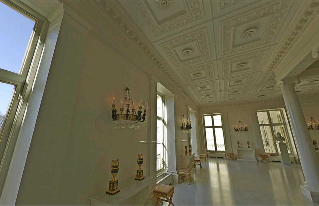 Ga op bezoek bij Paleis Noordeinde in Google Street View