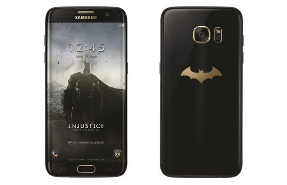 Deze Galaxy S7 Edge is speciaal voor Batman(fans) gemaakt