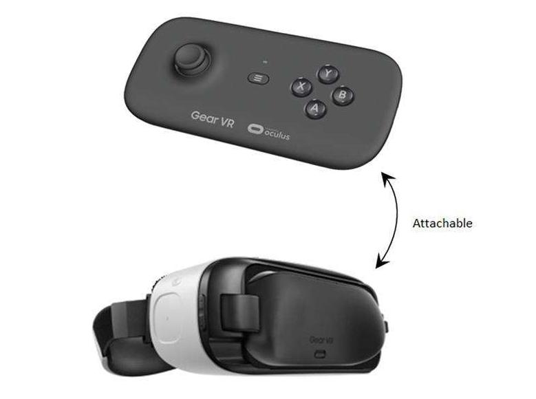 Gear VR-controller