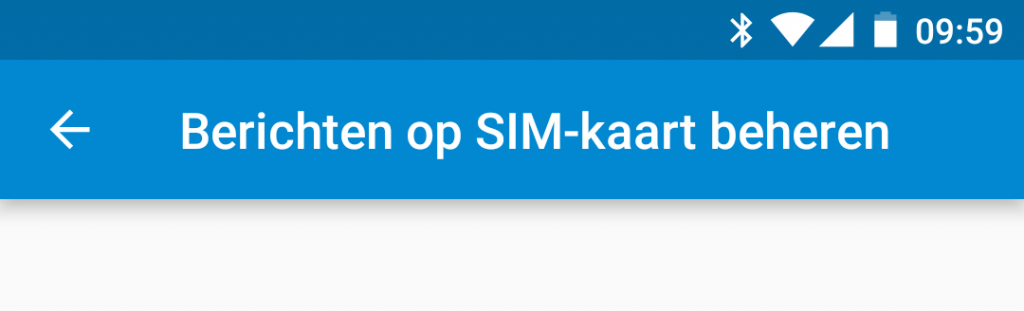 Google Messenger simkaartberichten