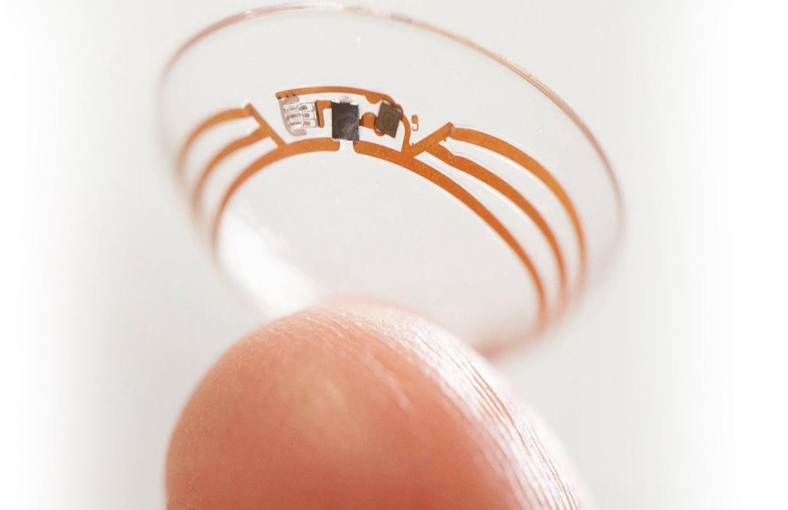 Google, Samsung en Sony zijn geïnteresseerd in slimme contactlenzen