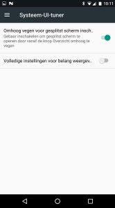 Android N splitscreenmodus