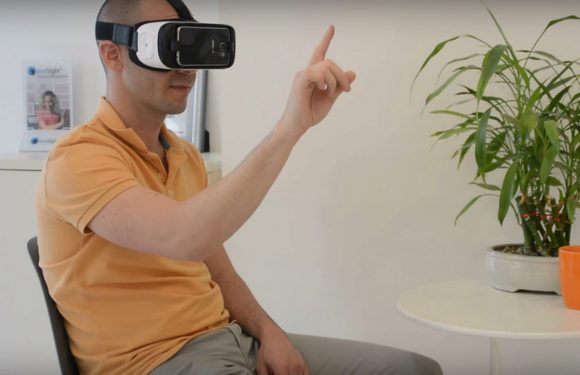 Video: Gear VR-besturing via handbewegingen door EyeSight
