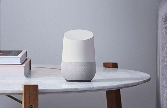 Google Home voorzien van eerste reclameboodschap