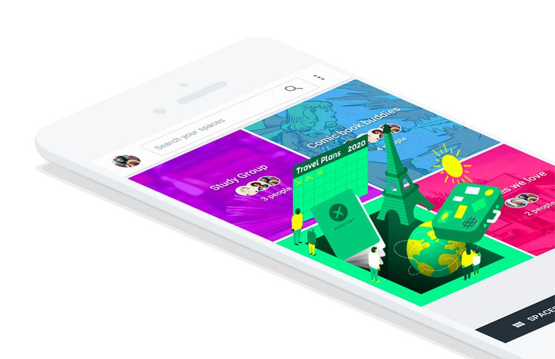 Google sluit sociale app Spaces in april