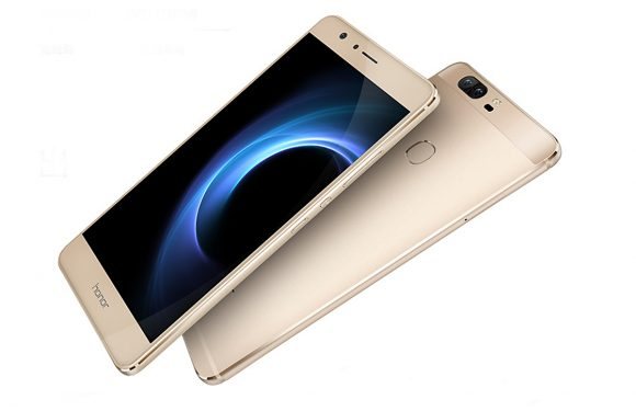 Huawei onthult de Honor V8 met dubbele camera