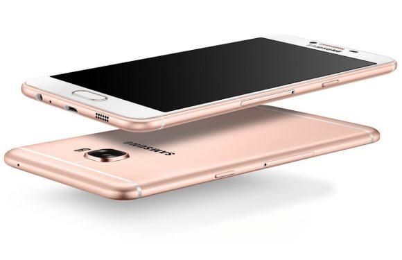 Samsung onthult metalen Galaxy C5 met prima specs