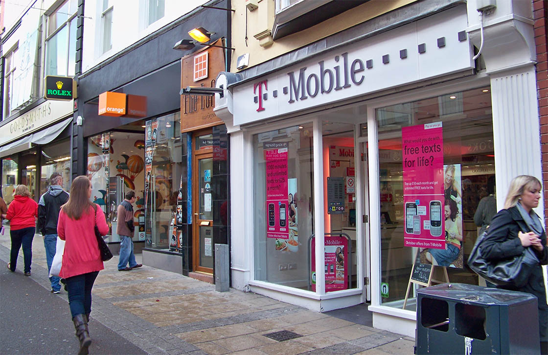 T-Mobile Tele2-overname