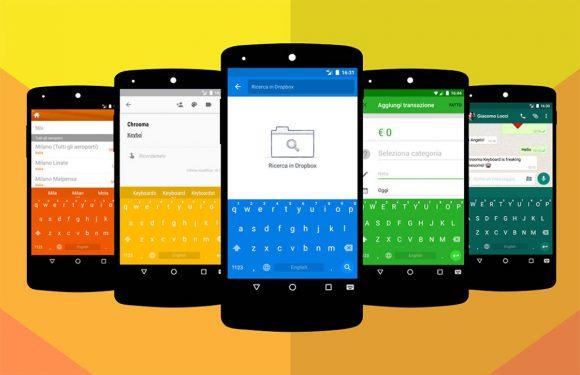 Chrooma Keyboard introduceert éénhandige modus en Action Row