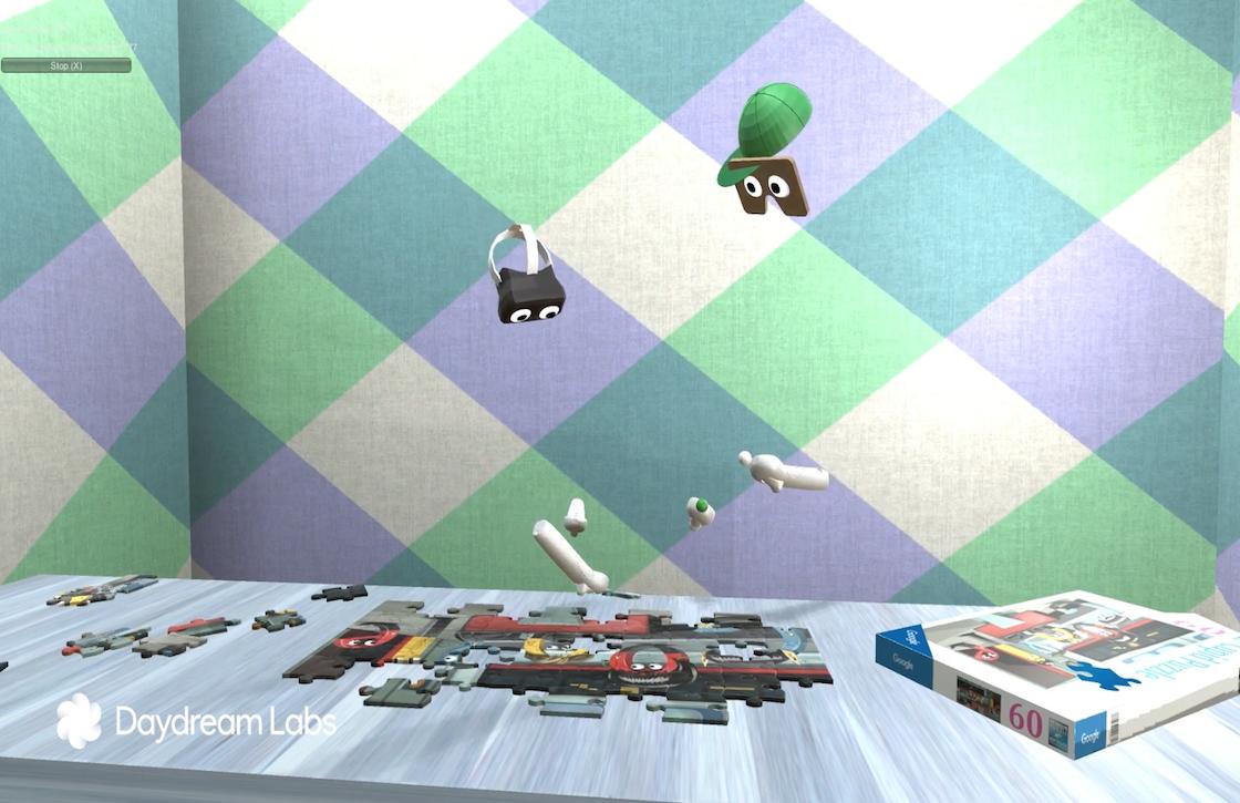 Testvideo toont de 'multiplayer' van Google Daydream VR
