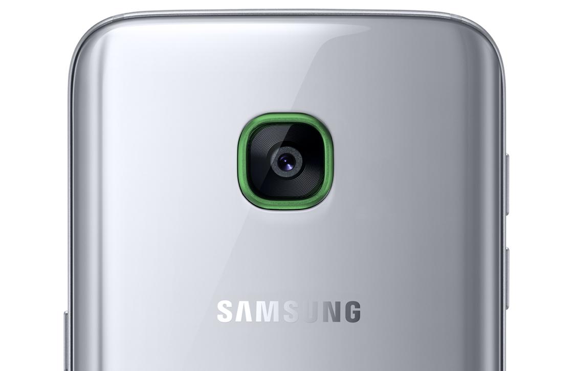 'Galaxy Note 7 en Galaxy S8 krijgt lichtgevende notificatiering rond camera'