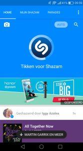 Shazam automatisch