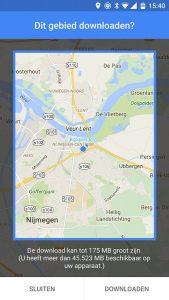 google maps functies