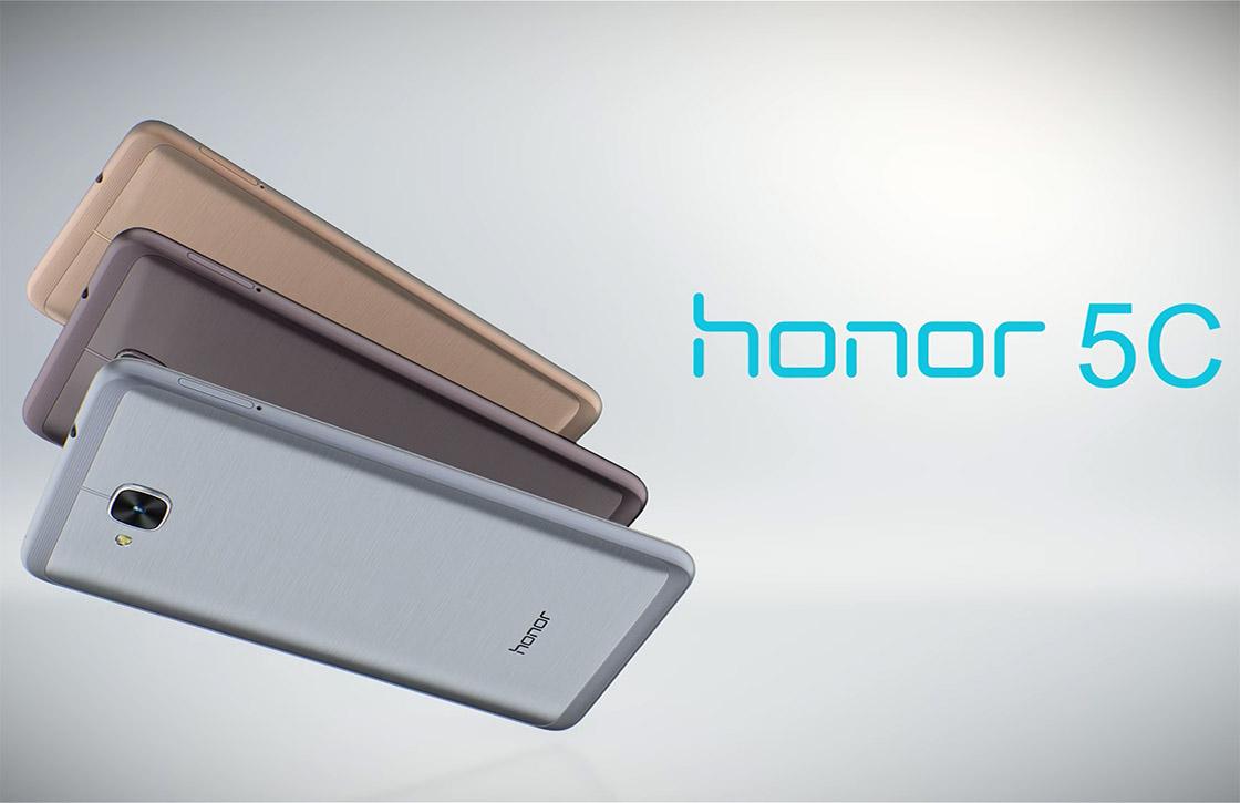 Metalen Honor 5C nu verkrijgbaar in Nederland voor 199 euro