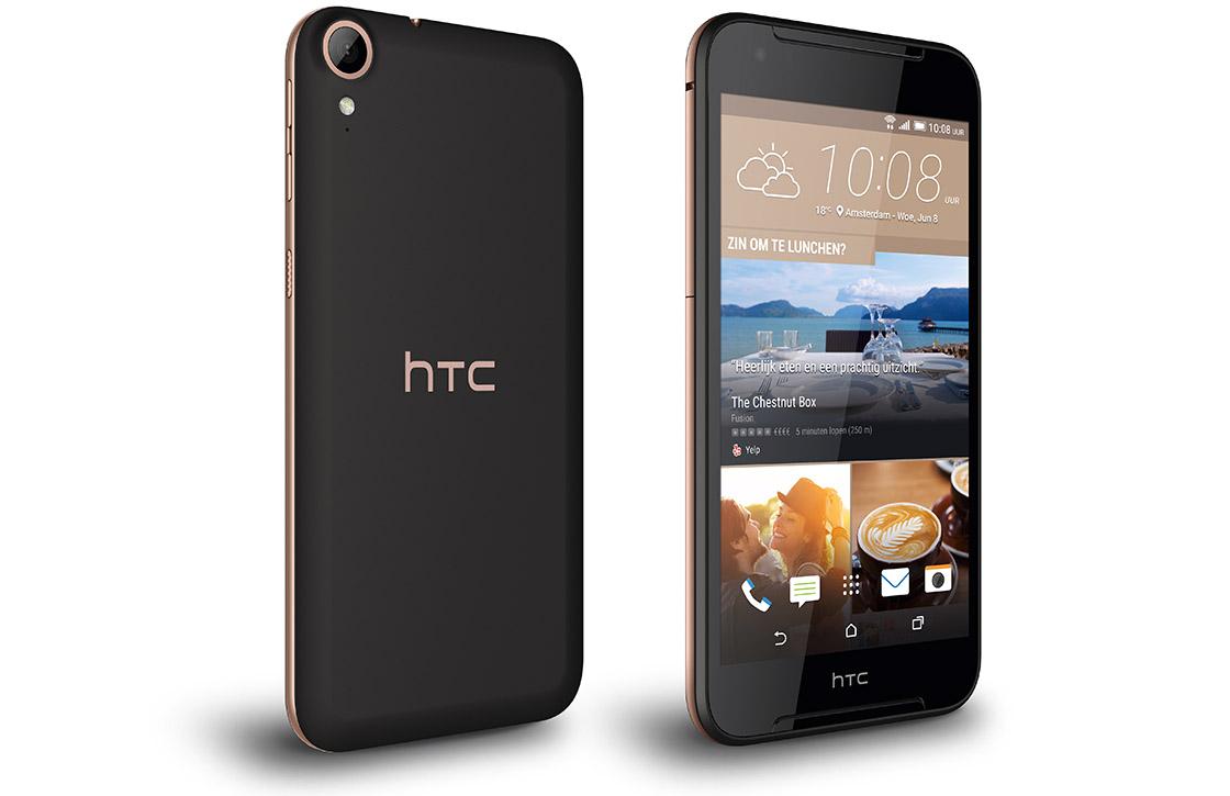 HTC onthult midrange Desire 830 met 13 megapixel-camera