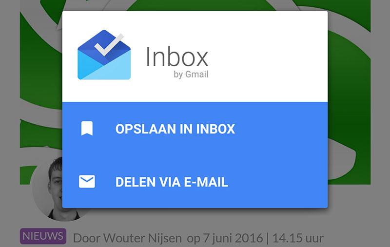 inbox functies