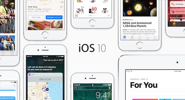ios 10 versus android