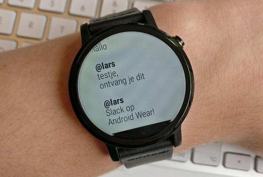 slack android wear