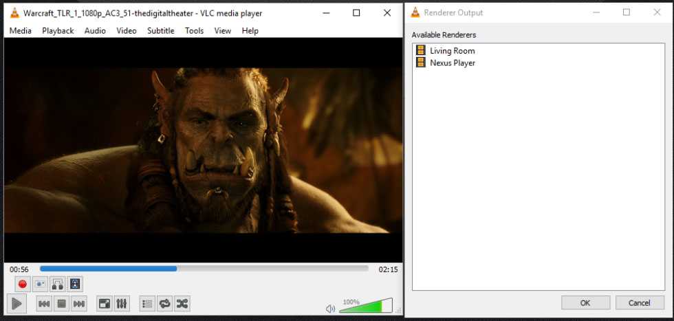 how to play vlc on chrome cast