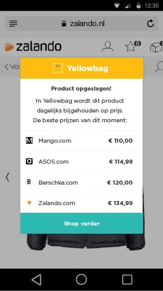 yellowbag update