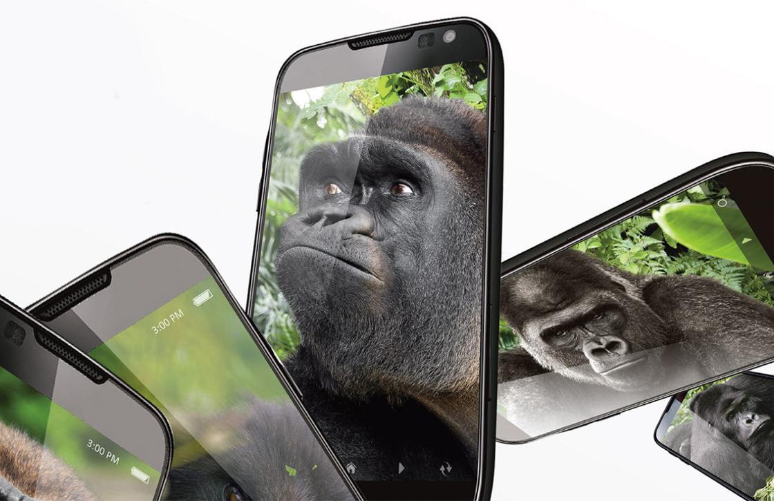 Gorilla Glass 5 moet de meeste smartphone-valpartijen overleven