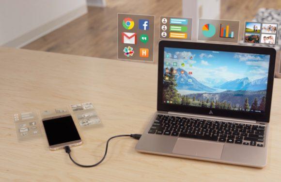 Superbook verandert je Android-smartphone in een laptop
