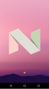 Android 7.0 Nougat easter egg