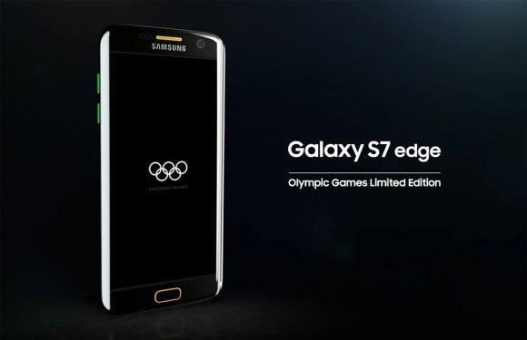 Dit is de Olympische Spelen-editie van de Galaxy S7 Edge