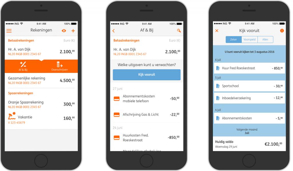 ING Kijk Vooruit met Mobiel Bankieren