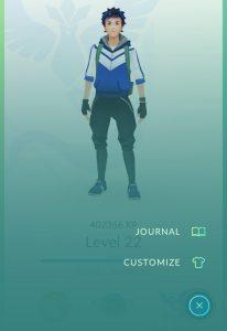Pokémon GO-voetstapjes