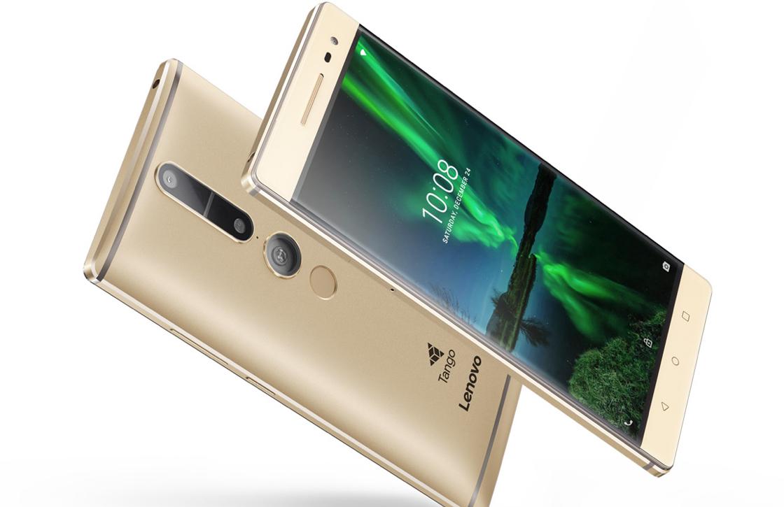 Lenovo stelt Phab 2 Pro uit: Project Tango vertraagd