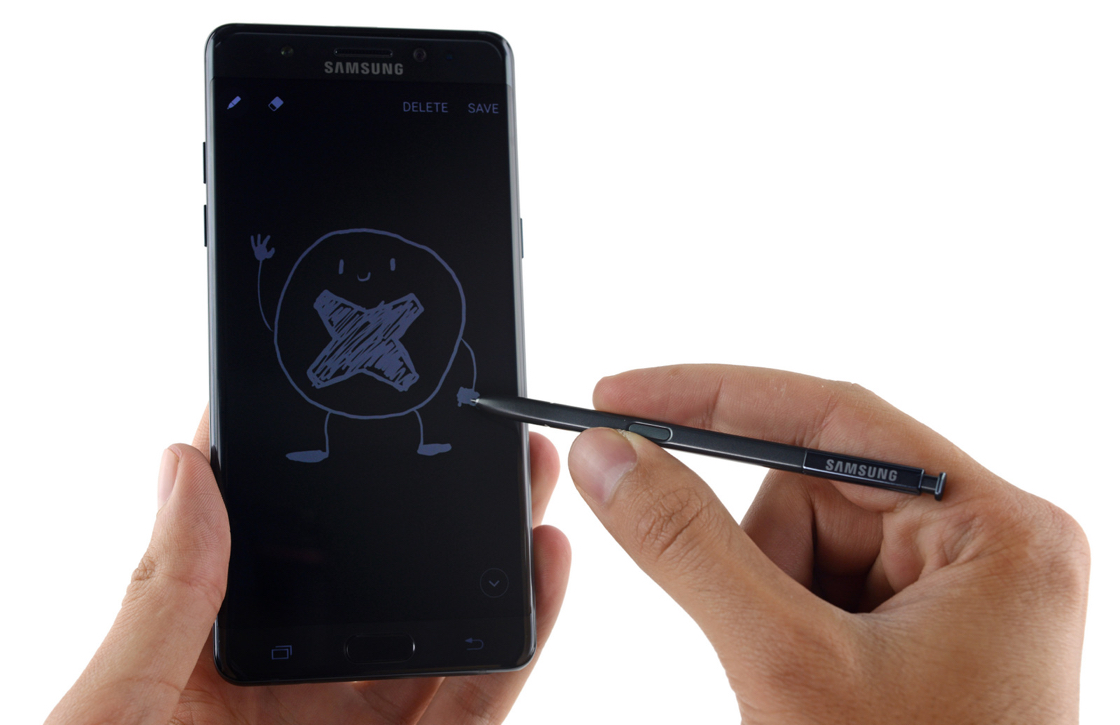 Teardown: Galaxy Note 7 lastig te repareren door waterdicht design