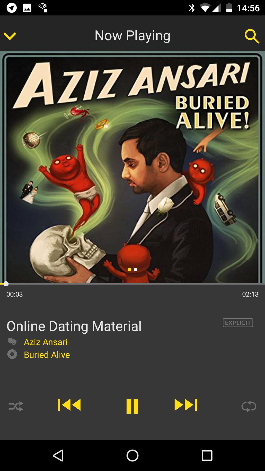 Hoe maak je online dating werk Ansari