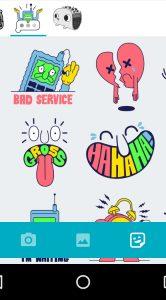 allo stickers