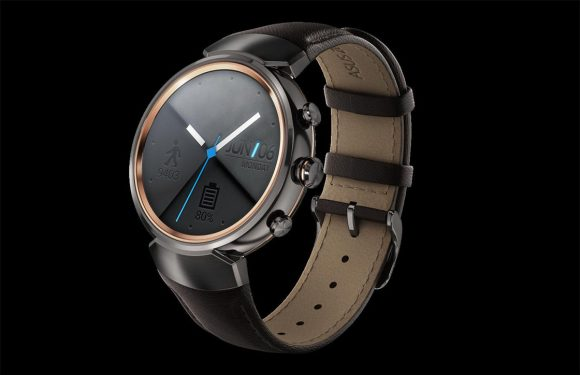 ZenWatch 3 is de eerste ronde smartwatch van Asus