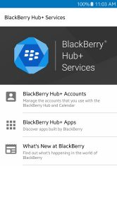 BlackBerry Hub voor Android