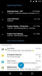 BlackBerry Hub voor Android
