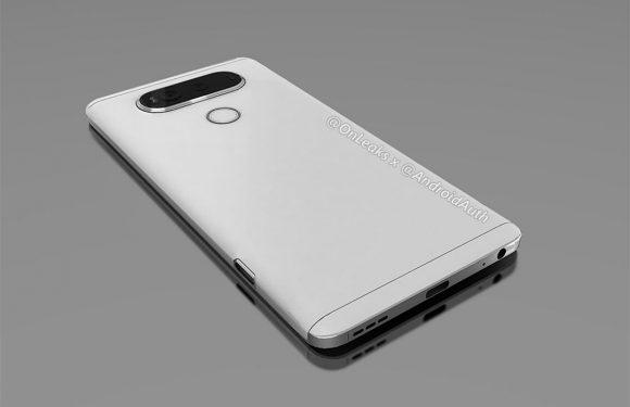 'Uitgelekte renders tonen dubbele camera van LG V20'