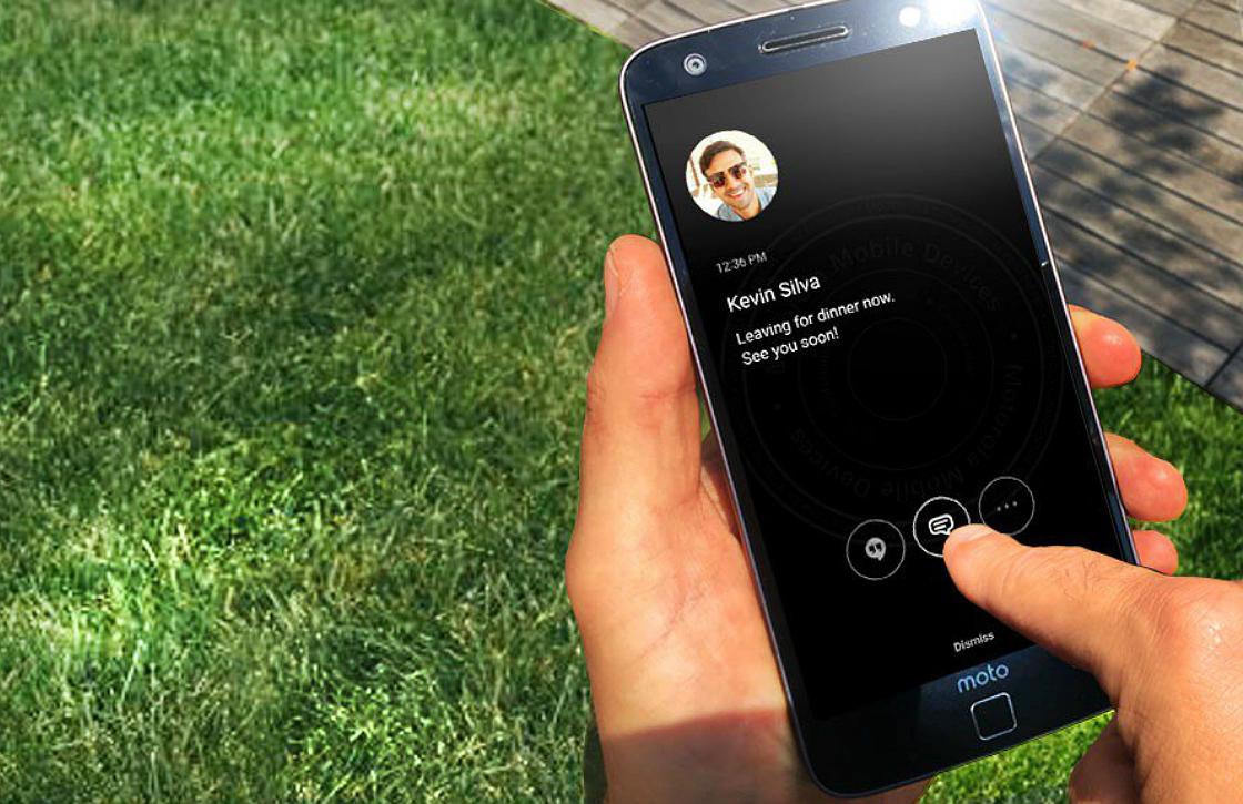 Motorola: 'Samsung heeft always on-display gestolen'