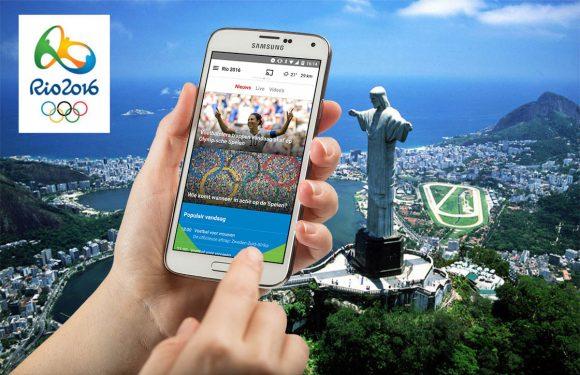 5 Android-apps om de Olympische Spelen in Rio te volgen