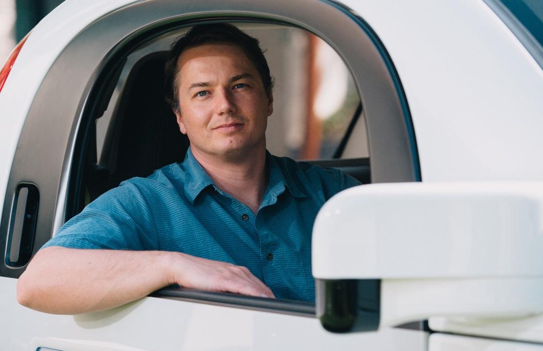 Leider Googles zelfrijdende auto vertrekt