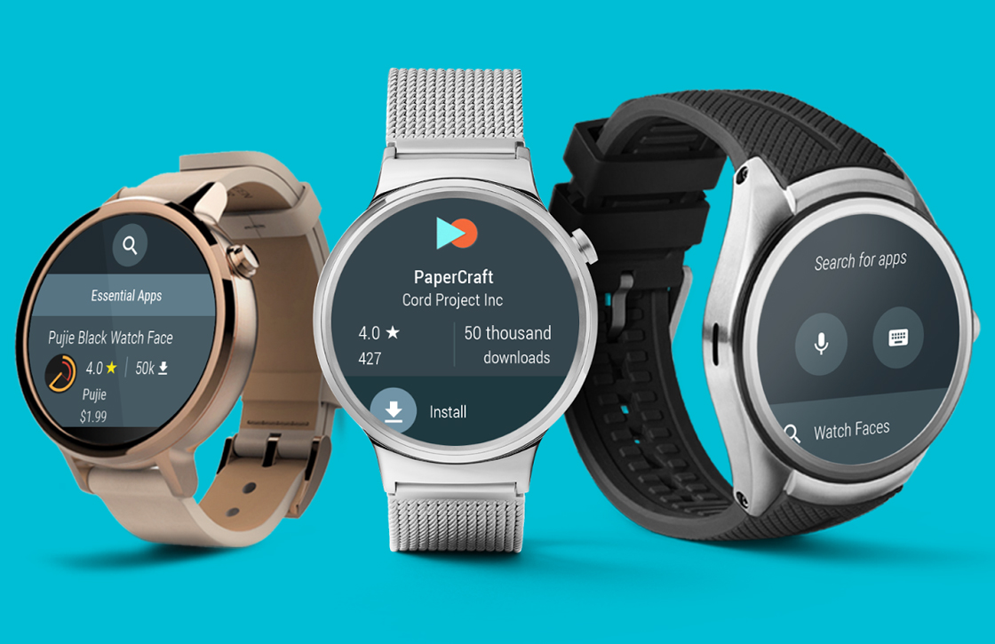 Google lanceert Android Wear 2.0 begin februari