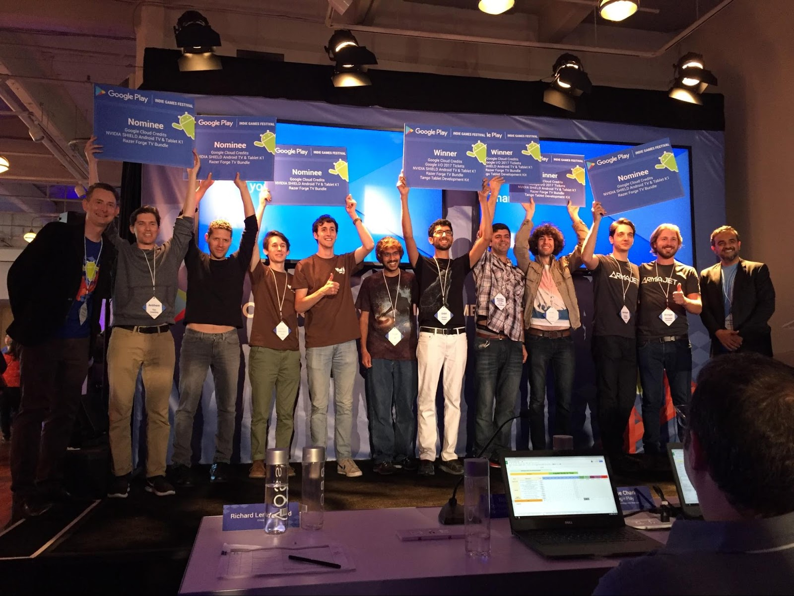 Google Play Indie Games Festival winnaars