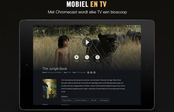 Pathé Thuis-app compleet vernieuwd met Chromecast-ondersteuning
