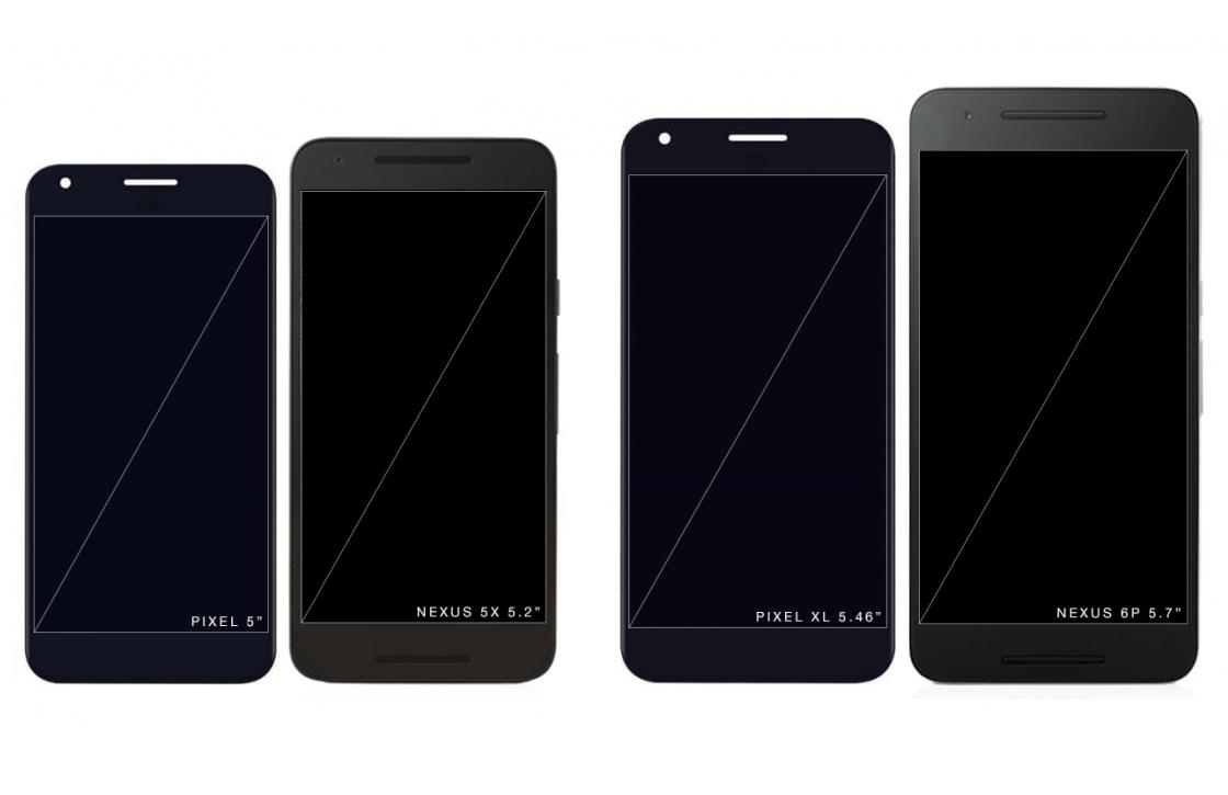'Voorkant Pixel en Pixel XL getoond in gelekte afbeeldingen'