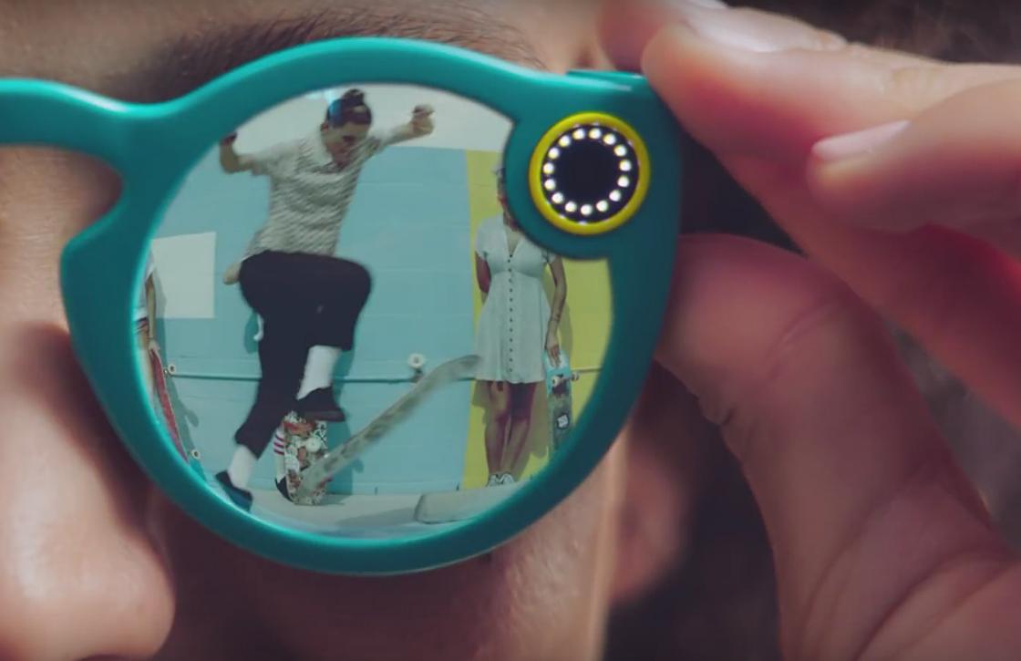 Snapchats eerste hardware is videozonnebril Spectacles