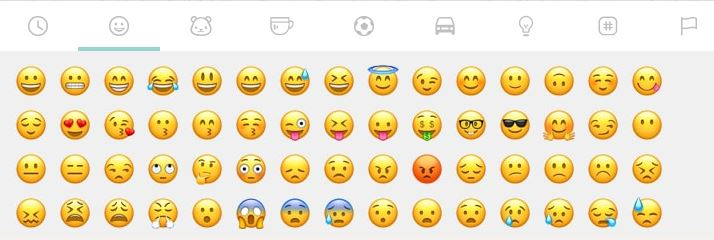 Aangepaste WhatsApp emoji