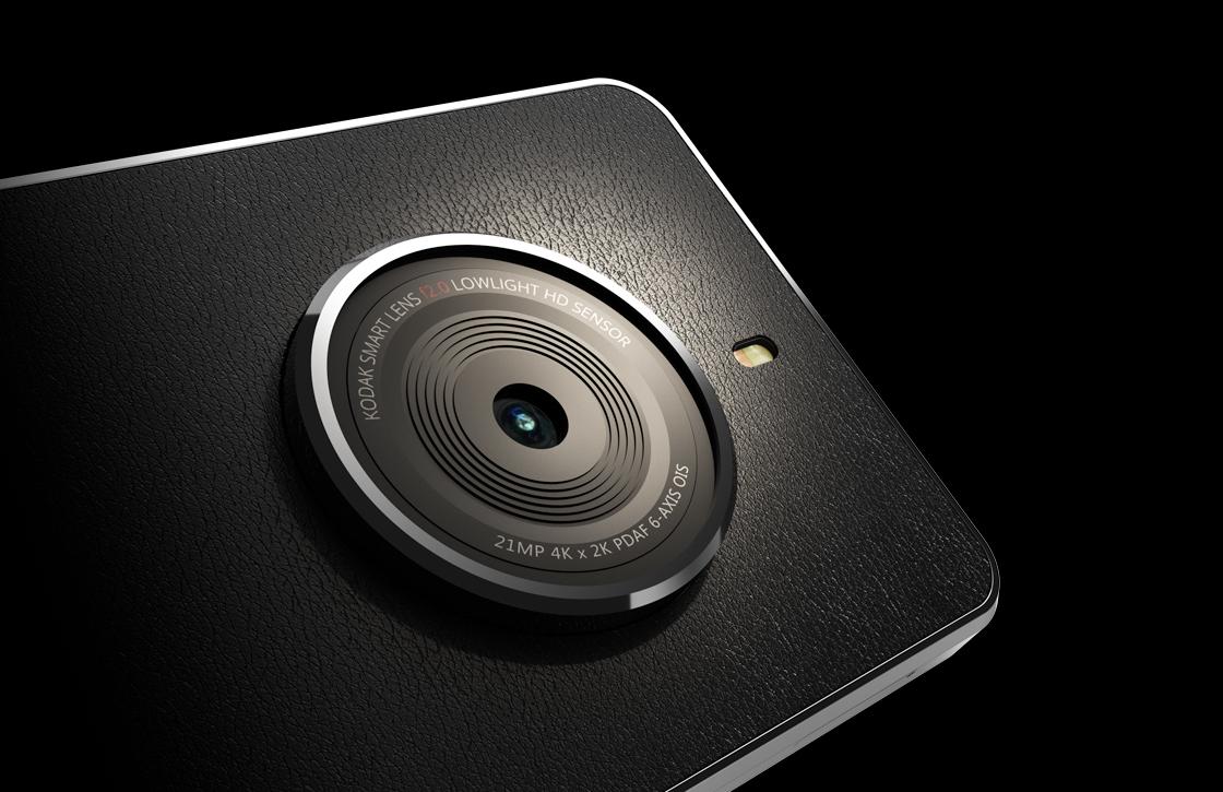 Kodak onthult de Ektra, een smartphone waarbij de camera voorop staat